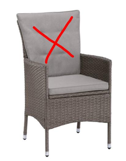 KONIFERA Gartenmöbelset Mailand 8 Sessel Stühle B93959222OT | 93959222