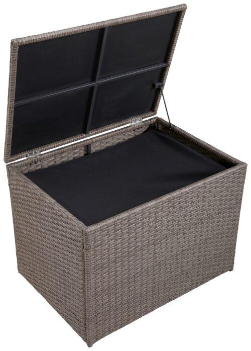 KONIFERA Auflagenbox Mailand klein 70x52x51cm Polyrattan B94219452 UVP 99,99€ | 94219452 3
