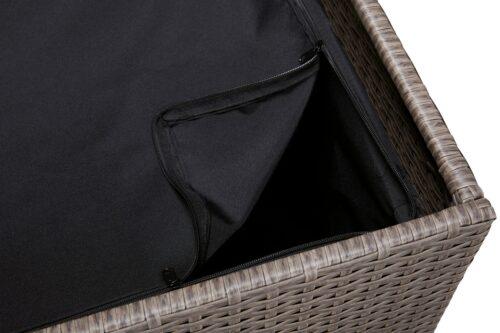 KONIFERA Auflagenbox Mailand klein 70x52x51cm Polyrattan B94219452 UVP 99,99€ | 94219452 5
