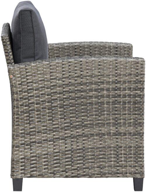KONIFERA Loungeset Amsterdam (16-tlg) 3er Sofa 2 Sessel 2 Hocker Tisch Polyrattan B95972049 UVP 699,99€ | 95972049 8