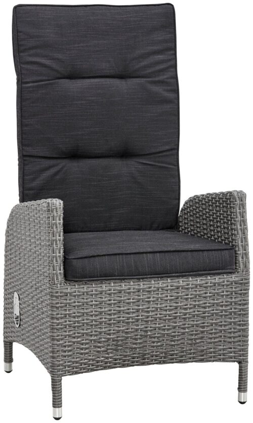 KONIFERA Gartenmöbelstuhl Brisbane 1 Stuhl/Sessel Rückenlehne verstellbar Aluminium Polyrattan B96198603S | 96198603 1