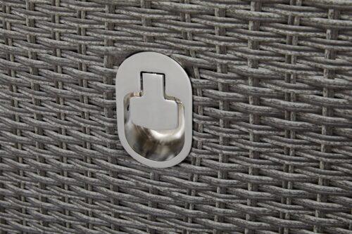 KONIFERA Gartenmöbelstuhl Brisbane 1 Stuhl/Sessel Rückenlehne verstellbar Aluminium Polyrattan B96198603S | 96198603 4