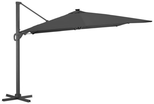 garten gut Ampelschirm Roma de luxe LxB:400x300cm Solarbetriebener LED Beleuchtung B96843855 UVP 499,99€ | 96843855 1