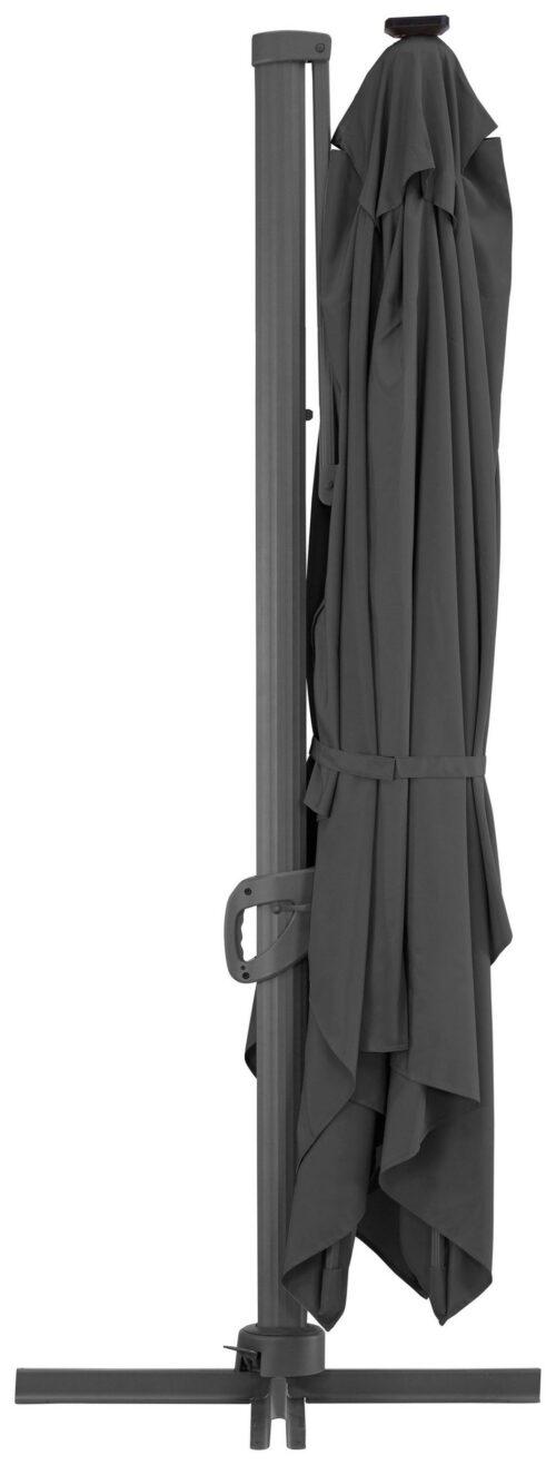 garten gut Ampelschirm Roma de luxe LxB:400x300cm Solarbetriebener LED Beleuchtung B96843855 UVP 499,99€ | 96843855 3