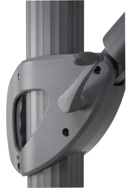 garten gut Ampelschirm Roma de luxe LxB:400x300cm Solarbetriebener LED Beleuchtung B96843855 UVP 499,99€ | 96843855 9