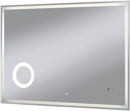 welltime Badspiegel Flex mit Beleuchtung Digitaluhr Kosmetikspiegel B96974517 ehemalige UVP 259,99€ | 96974517 1