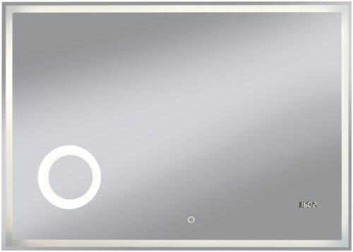 welltime Badspiegel Flex mit Beleuchtung Digitaluhr Kosmetikspiegel B96974517 ehemalige UVP 259,99€ | 96974517 2