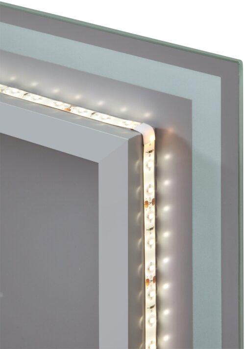 welltime Badspiegel Flex mit Beleuchtung Digitaluhr Kosmetikspiegel B96974517 ehemalige UVP 259,99€ | 96974517 3