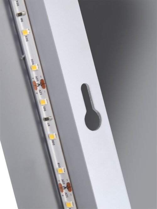 welltime Badspiegel Flex mit Beleuchtung Digitaluhr Kosmetikspiegel B96974517 ehemalige UVP 259,99€ | 96974517 4