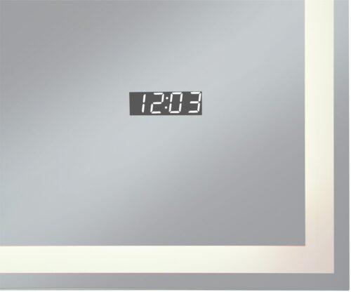 welltime Badspiegel Flex mit Beleuchtung Digitaluhr Kosmetikspiegel B96974517 ehemalige UVP 259,99€ | 96974517 5