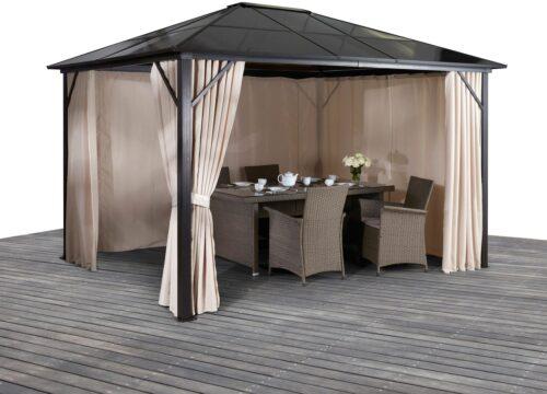 KONIFERA Pavillon Aruba mit 4 Seitenteilen BxT:300x400cm B97101336 UVP 629,99€   97101336 1