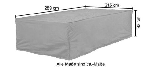 KONIFERA Gartenmöbel-Schutzhülle (1-St) LxBxH:289x215x83cm B97304960 ehemalig UVP 69,99€ | 97304960 6