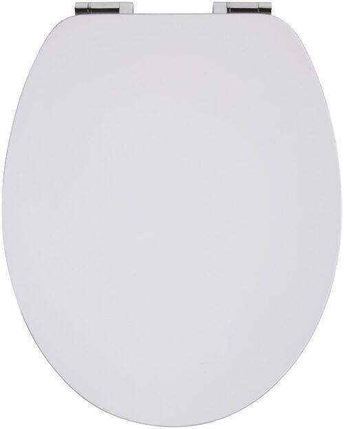WC-Sitz Weiß-grau MDF Toilettensitz Absenkautomatik B97311725 UVP 59,99€ | 97311725 2