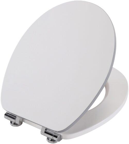 WC-Sitz Weiß-grau MDF Toilettensitz Absenkautomatik B97311725 UVP 59,99€ | 97311725 4