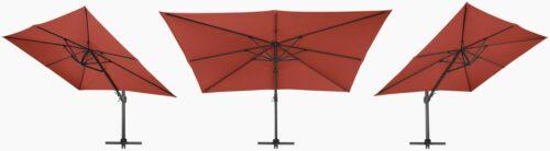 garten gut Sonnenschirm Big Roma LxB: 400x300cm ohne Schirmständer B98561615 UVP 399,99€   98561615 4