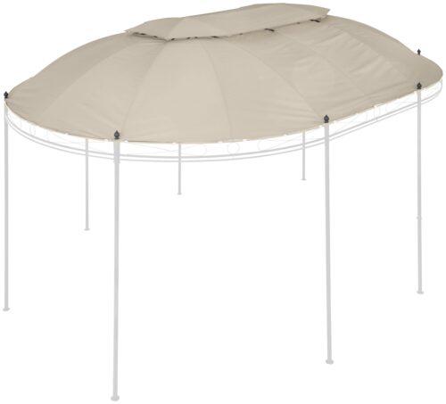 KONIFERA Ersatzdach für Pavillon Oval BxL:350x500cm B99062848 UVP 89,99€   99062848 1