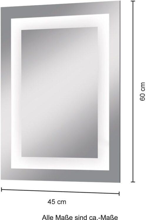 welltime Badspiegel Miami« LED-Spiegel Badezimmer-Spiegel Breite 45cm B99580132 ehemalige UVP 179,99€ | 99580132 5