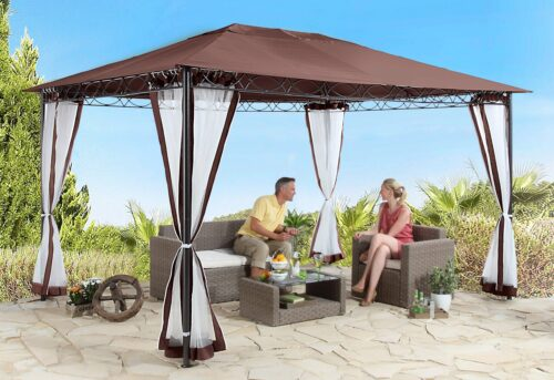 KONIFERA Pavillonseitenteile Moskitonetz Stil mit 2 Seitenteilen für 300x400cm B99624906 UVP 59,99€ | 99624906 1