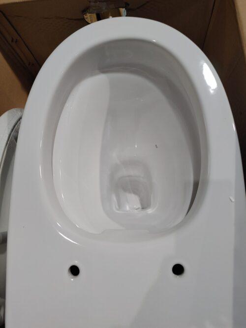 welltime WC Spring Toilette spülrandlos inkl. WC-Sitz mit Softclose B67814504 ehemalige UVP 189,99€ | WC Flachspueler scaled