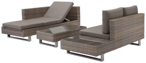 KONIFERA Loungeset Long Beach New 11-tlg. Ecklounge Tisch 108x53cm B63847613 UVP 1.099,99€ | long 3