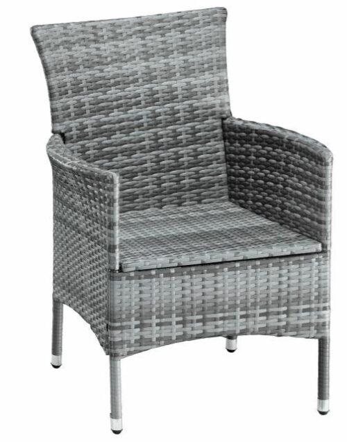 4 Stühle Stuhl Santiago New Sessel Polyrattan Ohne Rückenkissen B627421 B796248 | 4 Sthle Set Stuhl Santiago New Sessel Polyrattan Ohne Rckenkissen B627421 233168187545 2