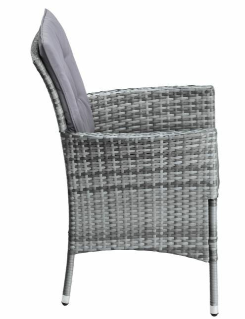4 Stühle Stuhl Santiago New Sessel Polyrattan Ohne Rückenkissen B627421 B796248 | 4 Sthle Set Stuhl Santiago New Sessel Polyrattan Ohne Rckenkissen B627421 233168187545 3