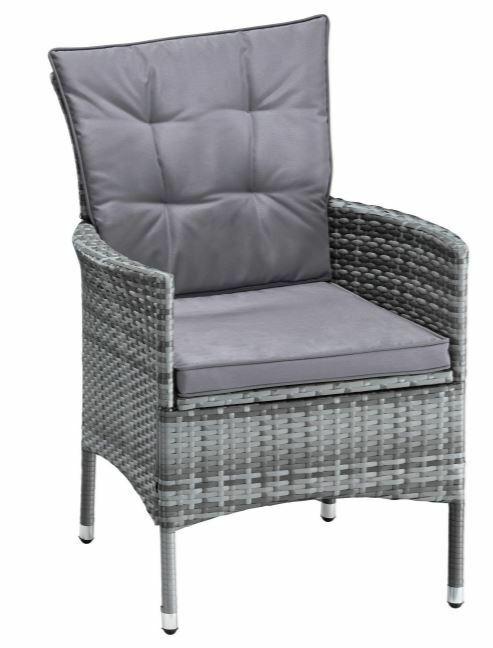4 Stühle Stuhl Santiago New Sessel Polyrattan Ohne Rückenkissen B627421 B796248 | 4 Sthle Set Stuhl Santiago New Sessel Polyrattan Ohne Rckenkissen B627421 233168187545