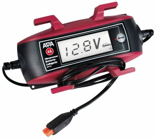 APA Batterieladegerät 6V/12V, 4A Kabelaufroller großem Display UVP 69,99 B625553 | APA Batterieladegert 6V12V 4A Kabelaufroller groem Display UVP 6999 B625553 233550760309 2