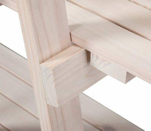 Bad Badregal aus Massivholz weiß mit 3 Ablagen B280321 ehemalig UVP 49,99€ | Bad Badregal aus Massivholz wei mit 3 Ablagen UVP 4999 B280321 332233996869 3