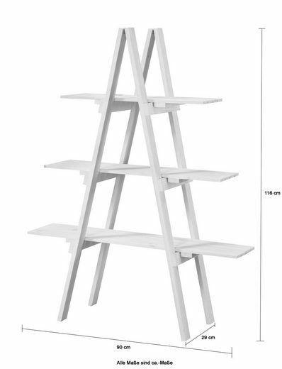 Bad Badregal aus Massivholz weiß mit 3 Ablagen B280321 ehemalig UVP 49,99€ | Bad Badregal aus Massivholz wei mit 3 Ablagen UVP 4999 B280321 332233996869 4