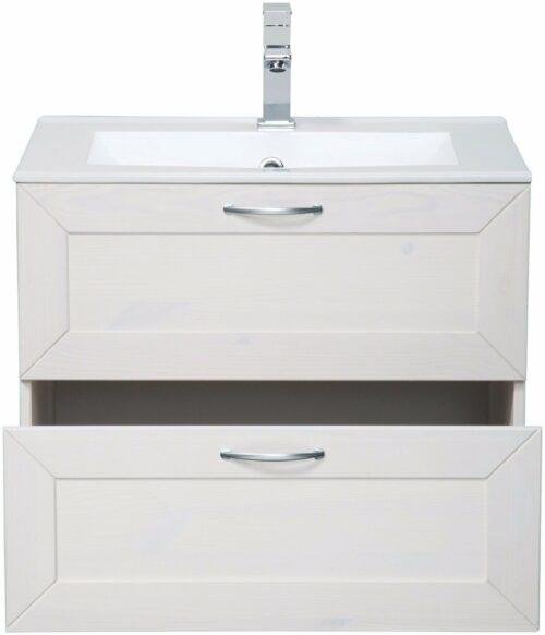 Bad Konifera Waschtisch Modern weiß B 60cm,(2-tlg.) B367527 ehemalig UVP299,99€ | Bad Konifera Waschtisch Modern wei Breite 60 cm2 tlgUVP 29999 B367527 332378191489 2