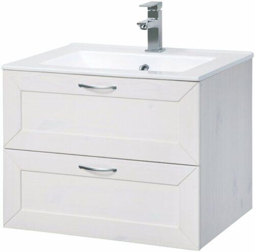 Bad Konifera Waschtisch Modern weiß B 60cm,(2-tlg.) B367527 ehemalig UVP299,99€ | Bad Konifera Waschtisch Modern wei Breite 60 cm2 tlgUVP 29999 B367527 332378191489