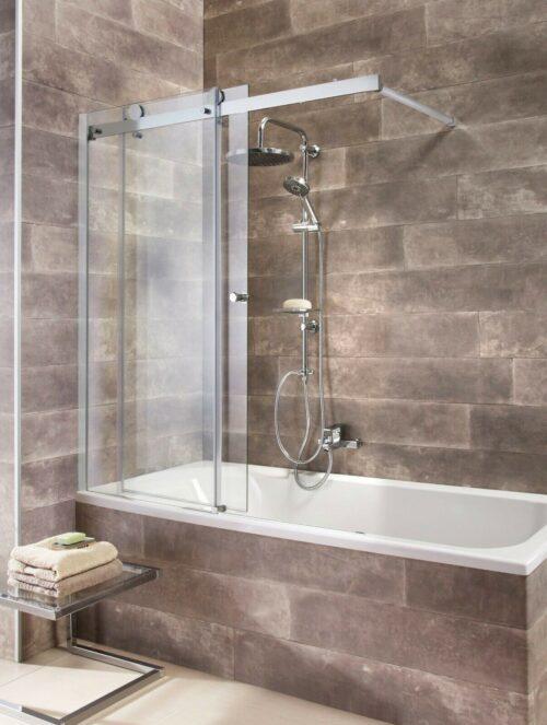 Badewannenaufsatz Mauritius mit Schiebetür B49987250 UVP 239,99€ | Badewannenaufsatz Mauritius mit Schiebetr B49987250 UVP 29999 233540674437 2