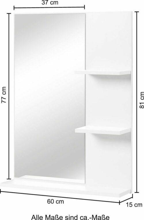 Badspiegel Baja 60cm breit B88957161 UVP 99,99€ | Badspiegel Baja 60 cm breit B88957161 UVP 9999 333207005063 3