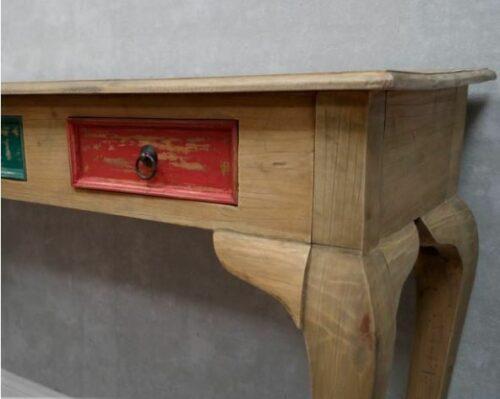 Barock Konsole Vintage Möbel Kommode Schrank Schubladen bunt Shabby BJJ 122655 | Barock Konsole Vintage Mbel Kommode Schrank Schubladen bunt Shabby BJJ 122655 232996565745 2