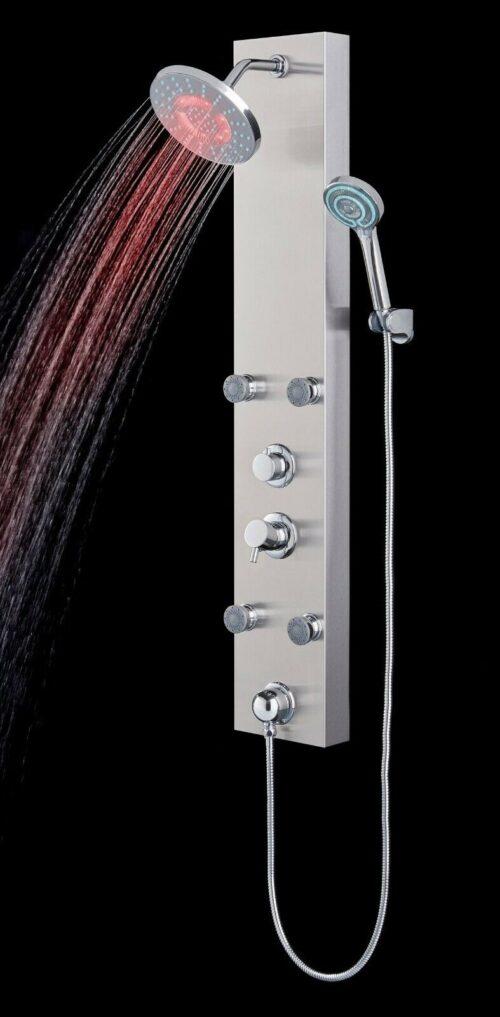 Duschsäule Edelstahlduschsäule LED B52155251 UVP 279,99€ | Duschsule Edelstahlduschsule LED B52155251 UVP 27999 333556980328 3