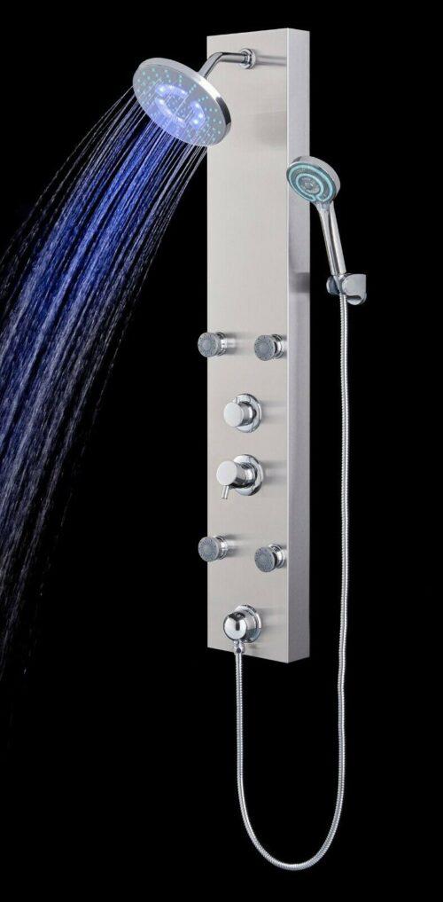 Duschsäule Edelstahlduschsäule LED B52155251 UVP 279,99€ | Duschsule Edelstahlduschsule LED B52155251 UVP 27999 333556980328 4