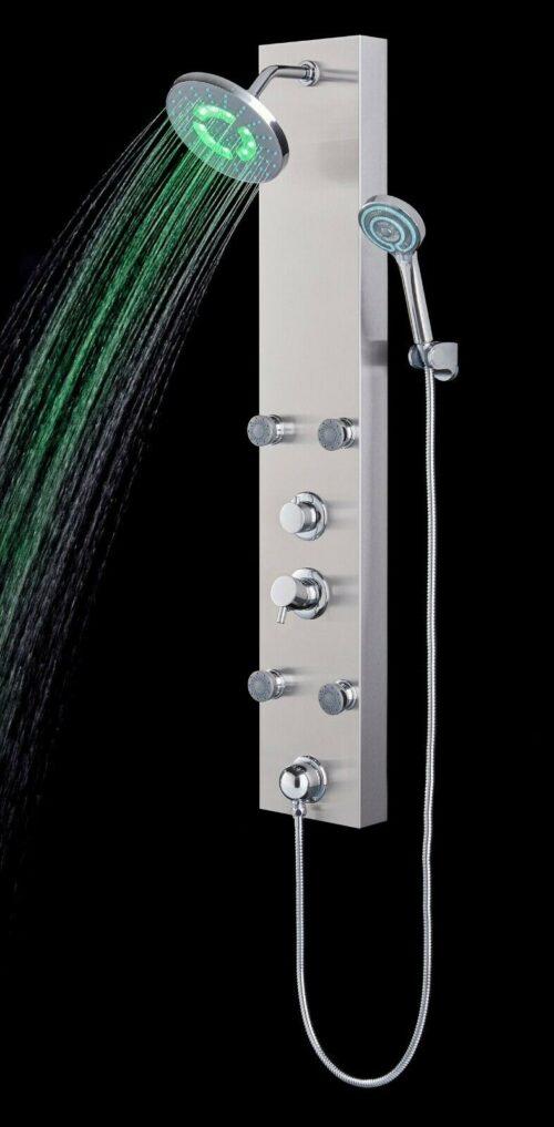 Duschsäule Edelstahlduschsäule LED B52155251 UVP 279,99€ | Duschsule Edelstahlduschsule LED B52155251 UVP 27999 333556980328 5