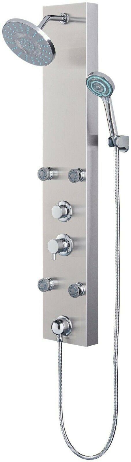 Duschsäule Edelstahlduschsäule LED B52155251 UVP 279,99€ | Duschsule Edelstahlduschsule LED B52155251 UVP 27999 333556980328