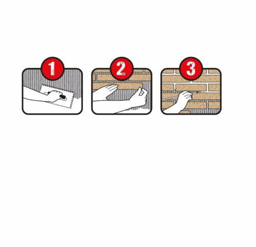 ELASTOLITH Verblendsteine Kreta,Außenbereich,1m²,silbergrau UVP23,99 € B818227 | ELASTOLITH Verblendsteine KretaAuenbereich1msilbergrau UVP2399 B818227 333242114009 2