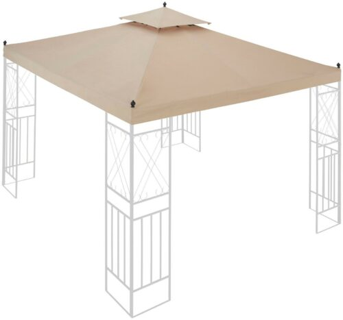 Ersatzdach für Pavillon Royal, BxL: 300x300 cm, sandfarbe, UVP69,99 € B 6627180   Ersatzdach fr Pavillon Royal BxL 300x300 cm sandfarbe UVP6999 B 6627180 332706204580