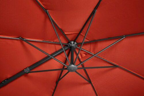 GARTENGUT Ampelschirm Marbella Ø 350 cm B37365130/ 39645924 UVP 199,99 € | GARTENGUT Ampelschirm Marbella 350 cm B37365130 UVP 19999 333390502023 6