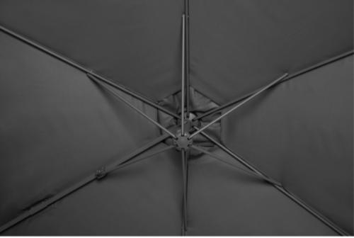 GARTENGUT Ampelschirm Palermo 300x300cm ohne Wegeplatten B83198338 UVP 139,99€ | GARTENGUT Ampelschirm Palermo 300x300 cm B87871361 UVP 12999 333304051271 4