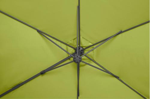 GARTENGUT Ampelschirm Palermo 300x300 cm ohne Platten B58148562 UVP 129,99€ | GARTENGUT Ampelschirm Palermo 300x300 cm ohne platten B58148562 UVP 12999 233302046416 5