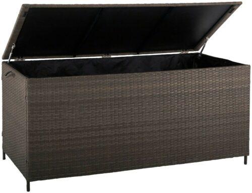 GARTENGUT Auflagenbox Santorini, 165x76 cm, Polyrattan, B3320865 UVP 199,99 € | GARTENGUT Auflagenbox Santorini 165x76 cm Polyrattan B3320865 UVP 19999 333175761291 3