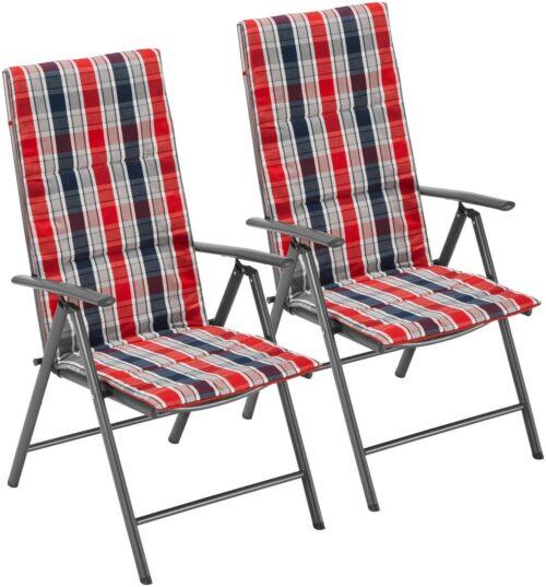 Gartenstühle 3er Set Alu/Textil Oslo verstellbar Wendeauflage B762525S UVP149,99€ | Gartensthle 3er Set AluTextil Oslo verstellbar Wendeauflage B762525 UVP14999 233060204773