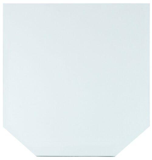 Glasbodenplatte Sechseck 85x100cm zum Funkenschutz B781165 ehemalig UVP 79,99€ | Glasbodenplatte Sechseck 85 x 100 cm zum Funkenschutz L781165 UVP 5999 232911672444