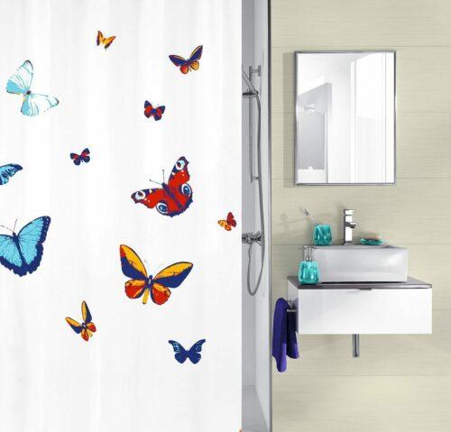 KLEINE WOLKE Duschvorhang Butterfly Breite 180cm B749232 UVP 27,99€ | KLEINE WOLKE Duschvorhang Butterfly Breite 180 cm B749232 UVP 2799 333568230965