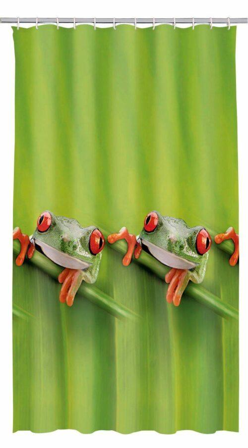 KLEINE WOLKE Duschvorhang Frog Breite 180cm B822211 ehemalig UVP 24,99€ | KLEINE WOLKE Duschvorhang Frog Breite 180 cm UVP 1999 L822211 232617173056
