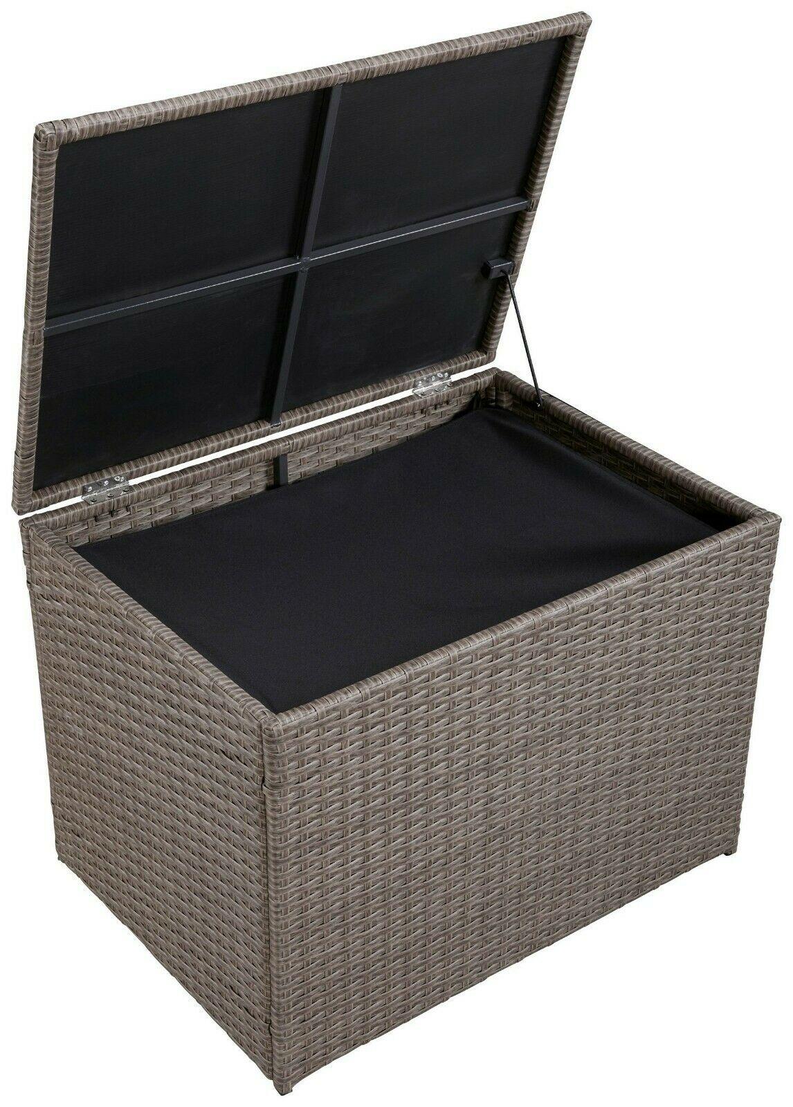 Genial Auflagenbox Polyrattan Sammlung Von Wohndesign Stil